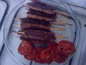 طرز تهیه کباب کوبیده سیخی , کباب کوبیده سیخی , کباب کوبیده با سیخ چوبی