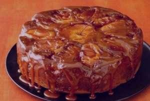 طرز تهیه کیک کدو حلوایی و سیب کاراملی , کیک کدو حلوایی و سیب کاراملی , کیک کدو حلوایی