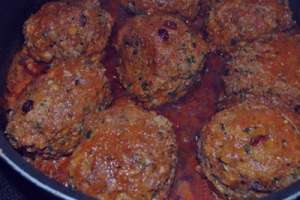 طرز تهیه کوفته مخصوص افطار , کوفته مخصوص افطار , روش پخت کوفته مخصوص افطار