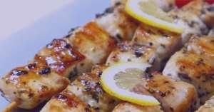 طرز تهیه کباب مرغ یونانی , کباب مرغ یونانی , دستور پخت کباب مرغ یونانی