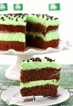 طرز تهیه کیک شکلاتی با رویه نعنا , کیک شکلاتی با رویه نعنا , کیک شکلاتی با نعنا