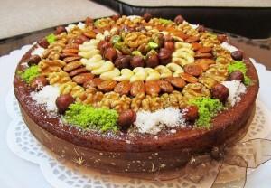 طرز تهیه کیک آجیلی , کیک آجیلی , دستور پخت کیک آجیلی