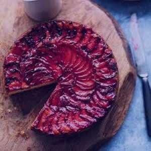 طرز تهیه کیک آلو سیاه , کیک آلو سیاه , روش پخت کیک آلو سیاه