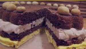 طرز تهیه کیک بستنی , کیک بستنی , دستور پخت کیک بستنی