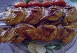 طرز تهیه کباب بلدرچین , کباب بلدرچین , روش پخت کباب بلدرچین