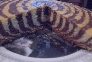 طرز تهیه کیک راه راه , کیک راه راه , کیک زبرا , دستور پخت کیک راه راه