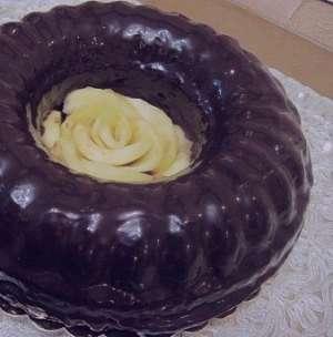 طرز تهیه کیک هویج با رویه گاناش , کیک هویج با رویه گاناش , دستور پخت کیک هویج با رویه گاناش