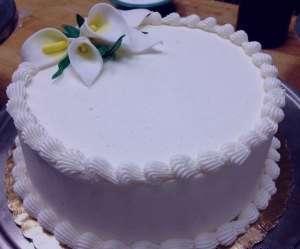 طرز تهیه خامه کیک , خامه کیک , خامه روی کیک