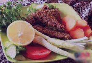 طرز تهیه کوکوی اشپل , کوکوی اشپل ماهی , کوکوی اشپل