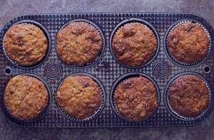 طرز تهیه کاپ کیک سیب و هویج , کاپ کیک سیب و هویج , دستور پخت کاپ کیک سیب و هویج