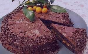 طرز تهیه کیک شکلاتی مغزدار , کیک شکلاتی مغزدار , دستور پخت کیک شکلاتی مغزدار