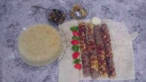 طرز تهیه کباب کوبیده دو رنگ , کباب کوبیده دو رنگ , کوبیده دو رنگ