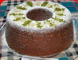 طرز تهیه کیک خرما با سس کاراملی , کیک خرما با سس کاراملی , دستور پخت کیک خرما با سس کاراملی