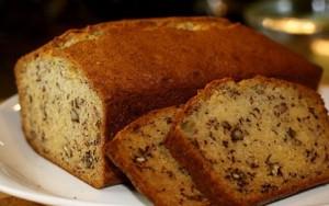 طرز تهیه کیک گردویی با اسانس موز , کیک گردویی با اسانس موز , کیک گردویی