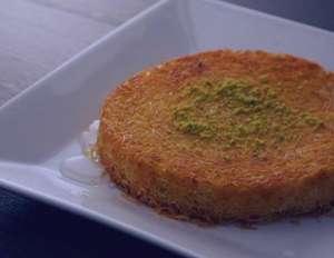 طرز تهیه کونفه کاداییف , کونفه کاداییف , شیرینی ترکیه ای
