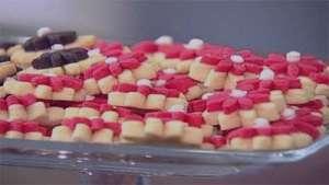 طرز تهیه شیرینی گل , شیرینی گل , روش پخت شیرینی گل