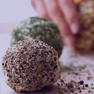 طرز تهیه توپ های گردویی , توپ های گردویی , دستور پخت توپ های گردویی