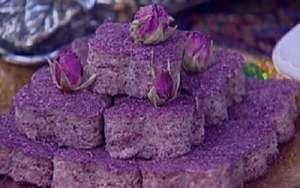 طرز تهیه شیرینی رولت گل سرخ , شیرینی رولت گل سرخ , دستور پخت شیرینی رولت گل سرخ