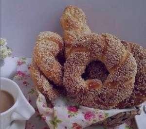 طرز تهیه نان سیمیت , نان سیمیت , نان سیمیت ترکیه ای