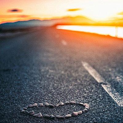 شعر در مورد جاده