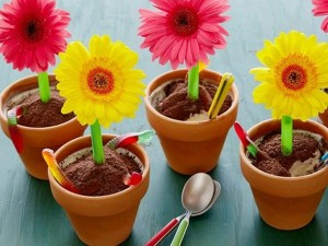 طرز تهیه بستنی گلدانی , بستنی گلدانی , دستور تهیه بستنی گلدانی