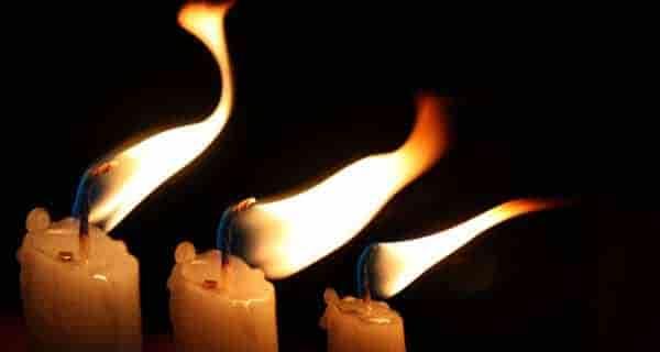 شعر در مورد شمع