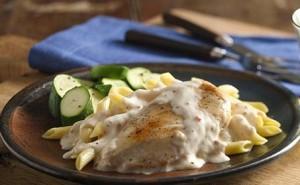 طرز تهیه مرغ خامه ای ایتالیایی , مرغ خامه ای ایتالیایی , مرغ خامه ای