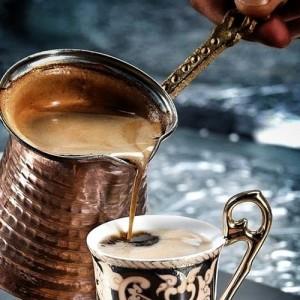 طرز تهیه قهوه ترک , قهوه ترک , روش درست کردن قهوه ترک
