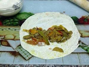 طرز تهیه ساندویچ شاورما مکزیکى , ساندویچ شاورما مکزیکى , ساندویچ شاورما