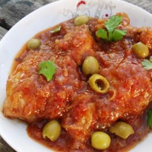 طرز تهیه خورش مرغ و زیتون , خورش مرغ و زیتون , خورش مرغ و زیتون لبنانی