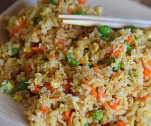 طرز تهیه مرغ سرخ شده با برنج ,  مرغ سرخ شده با برنج , مرغ سرخ شده با برنج چینی