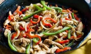 طرز تهیه بشقاب مرغ و سبزیجات , بشقاب مرغ و سبزیجات , خوراک مرغ و سبزیجات