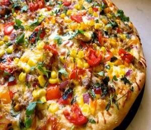 طرز تهیه پیتزای مکزیکی , پیتزای مکزیکی , پیتزا مکزیکی