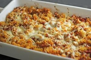 طرز تهیه ماکارونی با مرغ , ماکارونی با مرغ , ماکارونی با مرغ و پنیر پیتزا