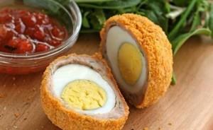 طرز تهیه اسکاچ مرغ , اسکاچ مرغ  , اسکاچ مرغ با تخم بلدرچین