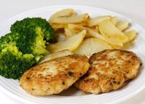 طرز تهیه کتلت مرغ , طرز تهیه کتلت مرغ با نخود فرنگی , کتلت مرغ با نخود فرنگی , کتلت مرغ