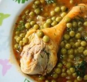 طرز تهیه خورش نخود فرنگی با مرغ , خورش نخود فرنگی با مرغ , روش تهیه خورش نخود فرنگی با مرغ