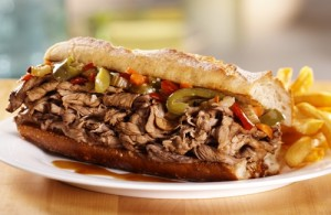 طرز تهیه ساندویچ گوشت ایتالیایی , ساندویچ گوشت ایتالیایی , ساندویچ گوشت