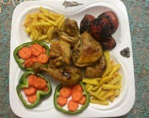 طرز تهیه مرغ ذغالی , مرغ ذغالی , دستور پخت مرغ ذغالی