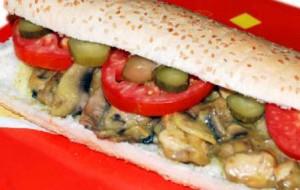 طرز تهیه ساندویچ زبان مکزیکی , ساندویچ زبان مکزیکی , ساندویچ زبان