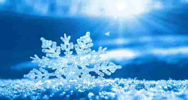 شعر در مورد برف