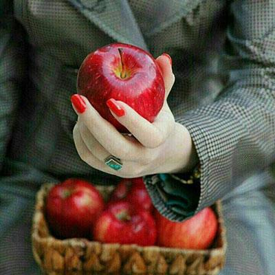 شعر در مورد سیب