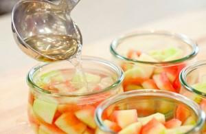 طرز تهیه مربای پوست هندوانه , مربای پوست هندوانه , مربای پوست هندوانه با آهک