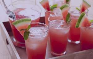 طرز تهیه شربت هندوانه , شربت هندوانه , شربت هندوانه خنک