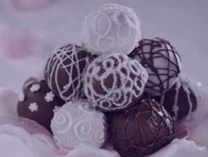 طرز تهیه توپک شکلاتی , توپک شکلاتی , دستور تهیه توپک شکلاتی