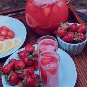 طرز تهیه شربت توت فرنگی , شربت توت فرنگی , معجون توت فرنگی