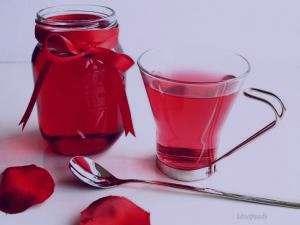 طرز تهیه شربت گل محمدی , شربت گل محمدی , شربت گل سرخ