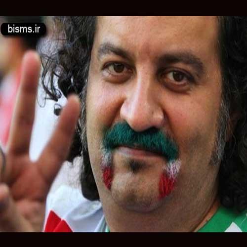 پیام تبریک مهراب قاسم خانی به سام درخشانی و همسرش