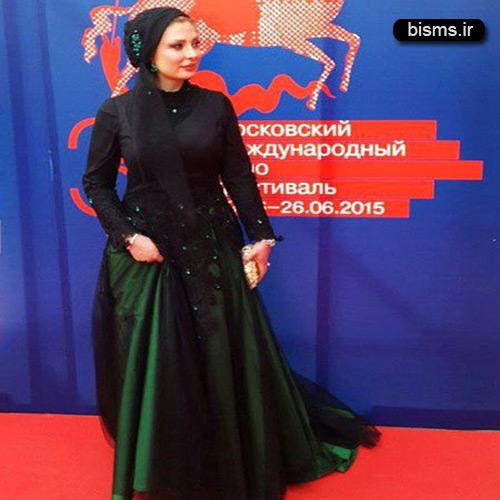 عکس های نیوشا ضیغمی در جشنواره فیلم مسکو
