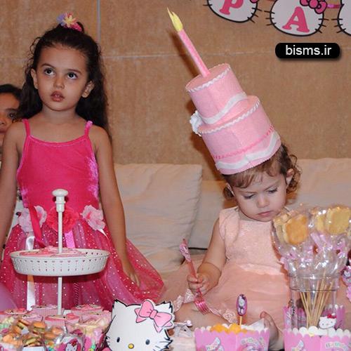 عکس های جشن تولد دختر شاهرخ استخری